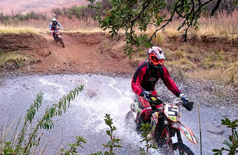 Enduro bike race for charity